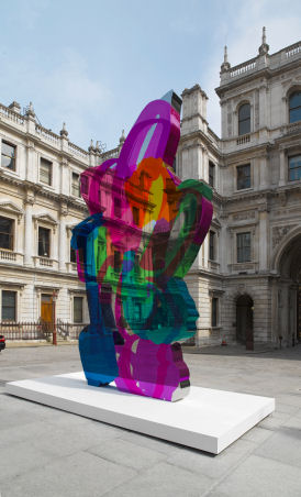 Royal Academy summer exhibition includes Jeff Koons' Coloring Book (RA)