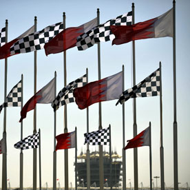 Flying the flag for Bahrain (getty)