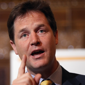 Nick Clegg hails victory over NHS reforms
