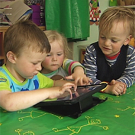 App market explodes for techie toddlers