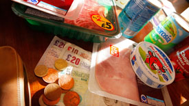 Official figures reveal that Mays inflation rate remains at a two and half year high, as research shows that the poorest have been worst hit by rising food and drink costs.