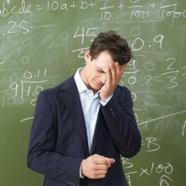 Stressed teacher - getty