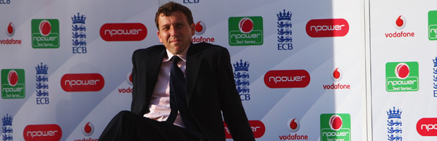 Former England captain Mike Atherton.