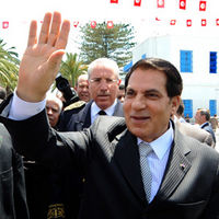 Ben Ali, May 2010 (Getty)