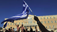 Greek Government faces confidence vote as it battles to avoid defaulting on its debts (Getty)