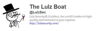 LulzSec Twitter icon.