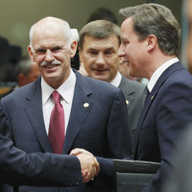 'No contribution to £120bn Greek bail-out' - Cameron - Reuters