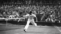 Wimbledon: Fred Perry - did you see him win Wimbledon in 1936?