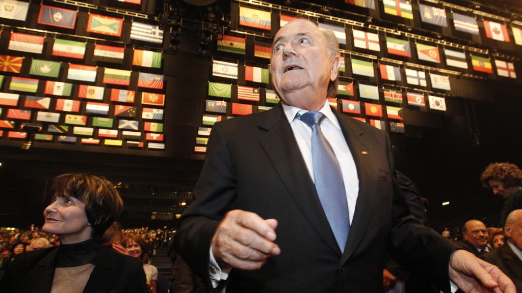 Sepp Blatter FIFA congress (reuters)