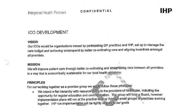 IHP leaked documents
