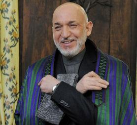 Hamid Karzai denies corruption in Afghanistan (Reuters)