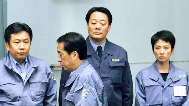 Will Japan premier Naoto Kan's handling of the tsunami disaster mark him out as a great leader? (Getty)
