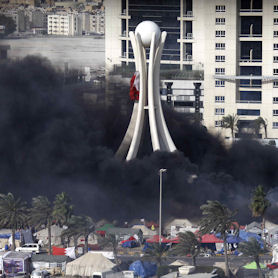 Bahrain: Forces 'cleanse' Pearl roundabout protests