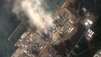 The stricken Fukushima nuclear plant