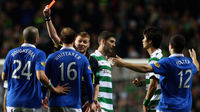 Celtic and Rangers last Old Firm clash was a troubled game (Getty)