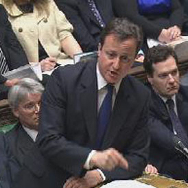 Commons debate Libya attacks