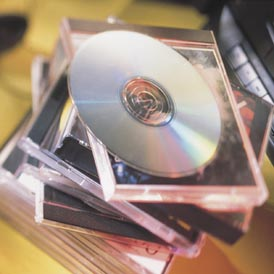 CDs and DVDs are at the centre of a tax loophole row (Getty)