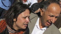 Libya: Eman al-Obeidi told journalists in a Tripoli hotel she had been raped by Gaddafi's men (Reuters)