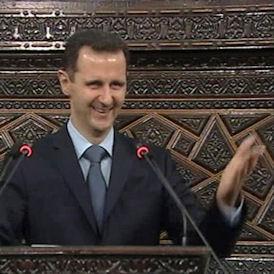 President Assad 30th March (Reuters)