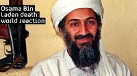 Osama bin Laden killed.