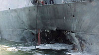 Americans die in ship attack