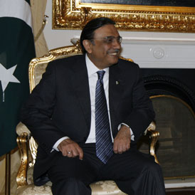 President Zardari denies knowledge of bin Laden hideout. (Reuters)