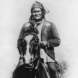 Geronimo, circa 1890 (Getty)