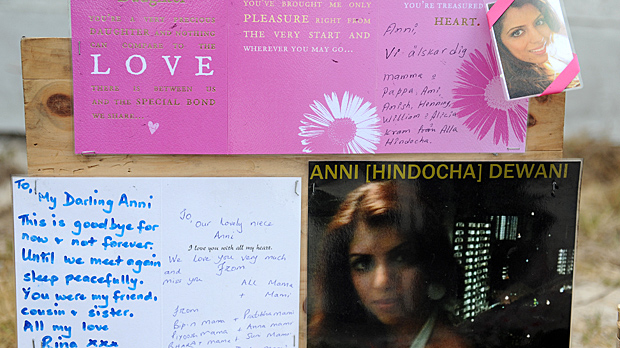 Tributes laid to Anni Dewani who was murdered on honeymoon in South Africa (Image: Getty)