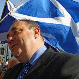 SNP makes big gains in Scottish elections with leader Alex Salmond set for another term as First Minister (Getty)