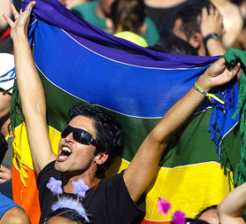 Gay couples have been given civil and legal rights in Brazil (Image: Getty)