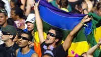 Gay couples are given civil and legal rights in Brazil (Image: Getty)