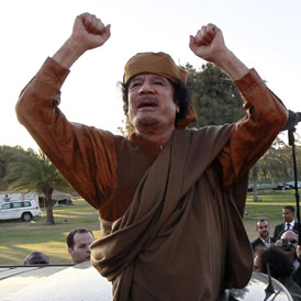 Libyan leader Muammar Gaddafi (Reuters)