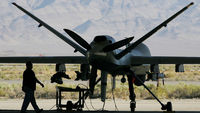 Pakistan drone war: legal challenge against CIA. (Getty)