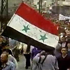 Syria: it is claimed army tanks have shelled the city of Homs (Reuters)