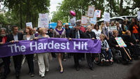 Thousands of disabled people set to protest against cuts to benefits and services (Getty)