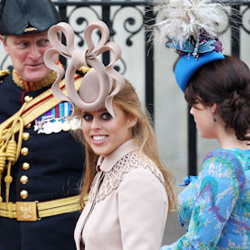 Princess Beatrice's controversial Royal Wedding hat (Reuters)