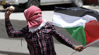Palestinian protester in border clash with Israeli troops (Reuters)