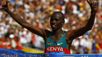 Wanjiru wins gold in Beijing 2008 (reuters)