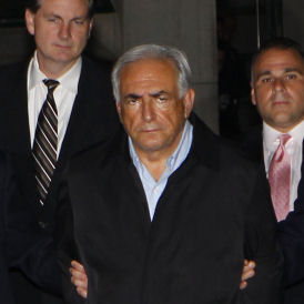 Dominique Strauss-Kahn, charged with attempted rape (Reuters)