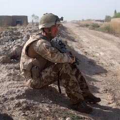 Soldier blog: well earned rest in Afghanistan