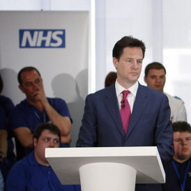 Nick Clegg will propose further amendments to NHS Bill (Getty)
