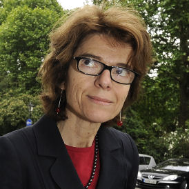 It is reported that Ms Pryce spent much of the day in central London - attending a conference in the morning and an event at the London School of Economics