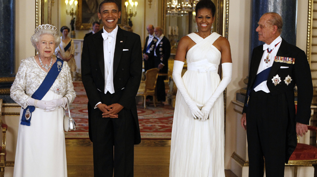 The Queen hosted a special banquet for the Barack Obama and his wife Michelle (Reuters)