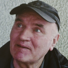 the latest picture of Ratko Mladic (Reuters)