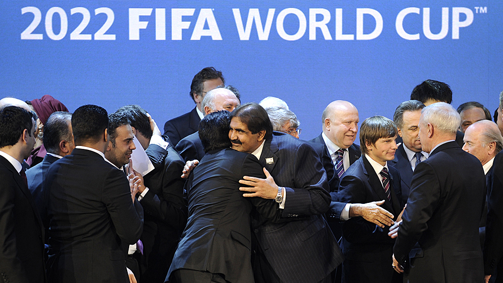 Qatar 'bought' the rights to the 2022 World Cup, an email from Jerome Valcke alleged (Image: Getty)