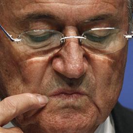 FIFA President Sepp Blatter. (Reuters)
