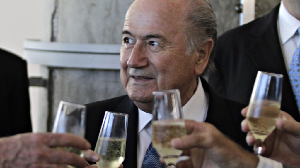 Sepp Blatter FIFA President (reuters)