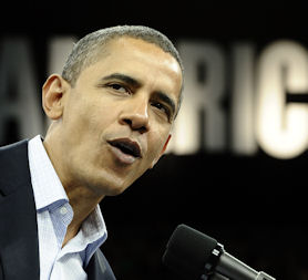 A message for President Obama? (Reuters).