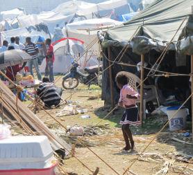Haiti braces itself for tropical storm Tomas (Medair / Emma Le Beau)