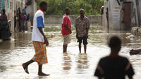 The Haiti capital Port-au-Prince has been spared the full force of Hurricane Tomas